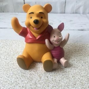 Vintage 1990's Winnie the Pooh and Piglet Too Bank